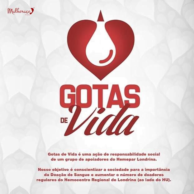 Gotas de Vida – Doe Sangue, Doe Vida!