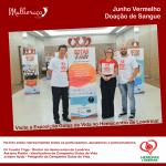 Os organizadores da Campanha Gotas de Vida