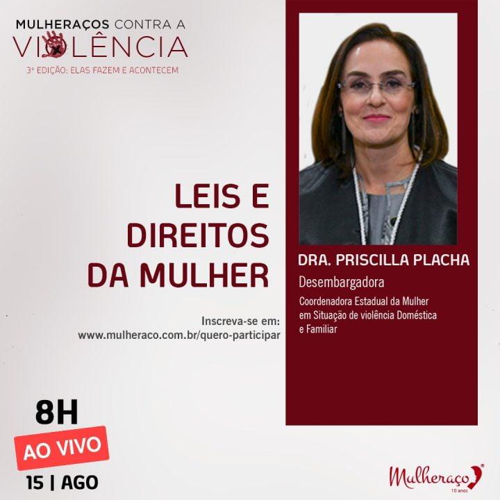 DESEMBARGADORA CONTRAPÕE LEGISLAÇÃO X VIOLÊNCIA CONTRA A MULHER