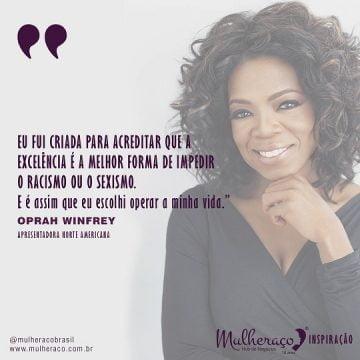 Mulheraço Inspiração Oprah Winfrey