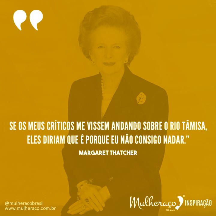Mulheraço Inspiração: Margaret Thatcher, a Dama de Ferro da política