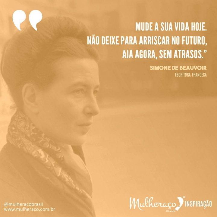 Mulheraço Inspiração: Simone de Beauvoir, à frente do seu tempo