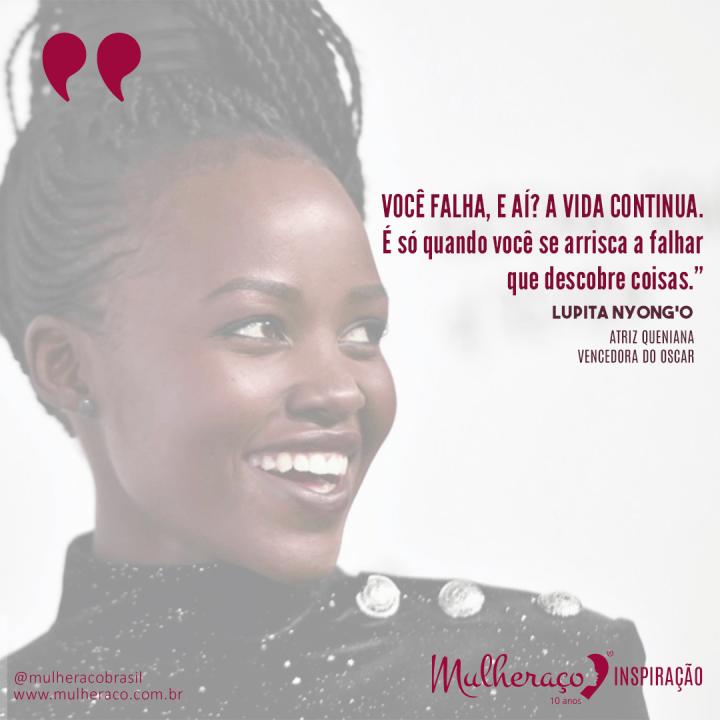 Mulheraço Inspiração: Lupita Nyongo'o, o talento da estrela em ascensão
