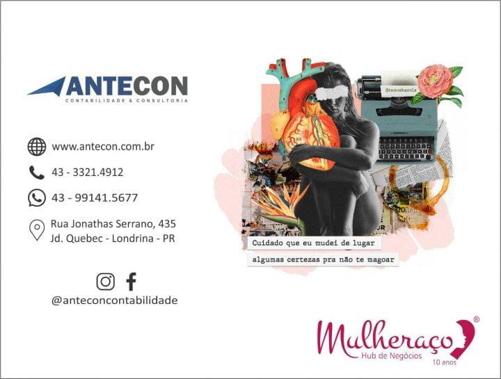 A tradição da Antecon e a parceria com o Mulheraço